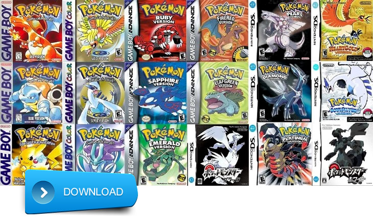 List of 18 Pokémon Games in Order of Chronological Release ...